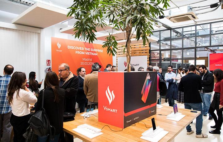 VinSmart chính thức bán điện thoại Vsmart ở Tây Ban Nha