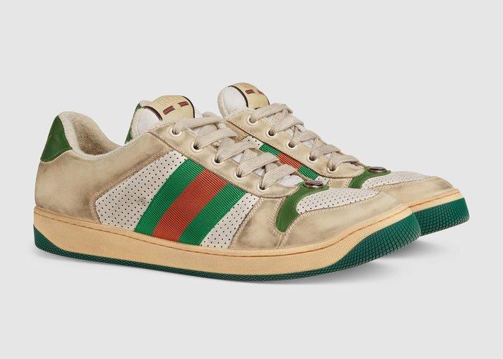 Bạn có mua đôi giày trông bẩn thế này giá 20 triệu đồng? Nhưng Gucci lại nghĩ khác