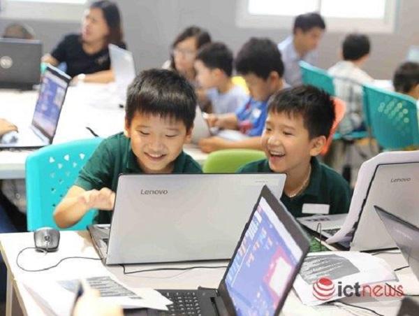 Học sinh Việt Nam học lập trình nhiều, nhưng tỷ lệ biết tự tạo website thấp