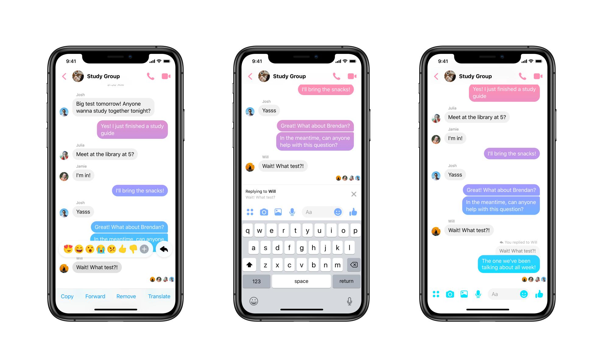 Facebook Messenger bổ sung tính năng