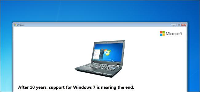 Làm sao để tắt thông báo ngừng hỗ trợ trên Windows 7?