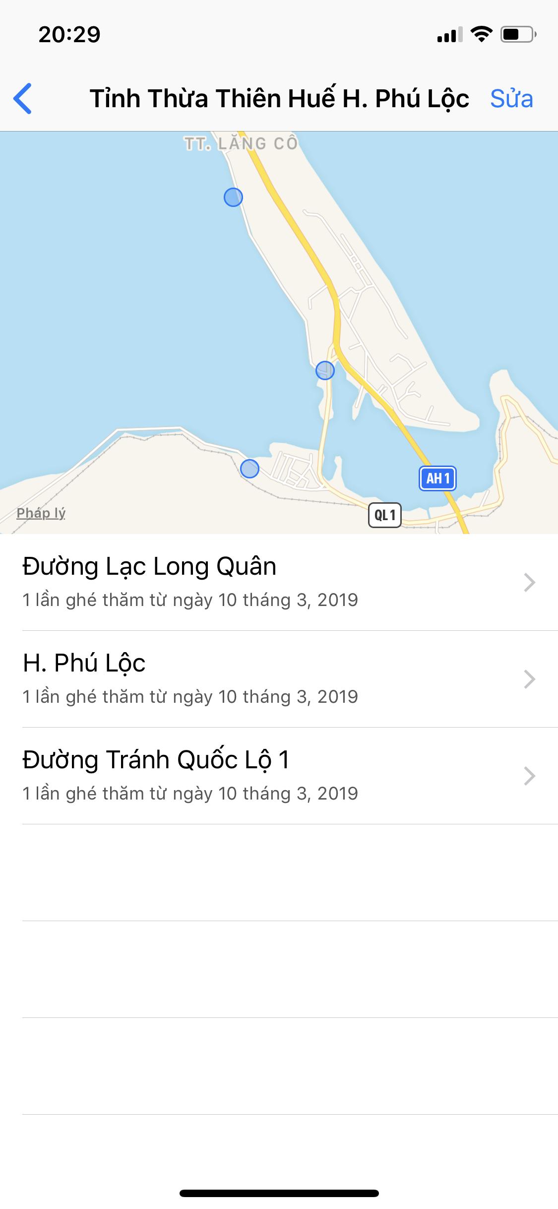 Cách xóa toàn bộ dữ liệu vị trí trên iPhone