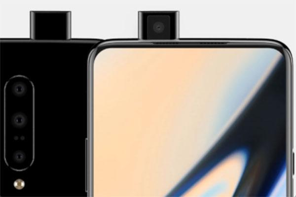 Lộ ảnh render OnePlus 7: 3 màu sắc bóng loáng, camera trước pop-up