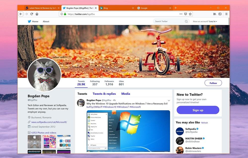 Hô biến giao diện Mozilla Firefox thành Google Chrome