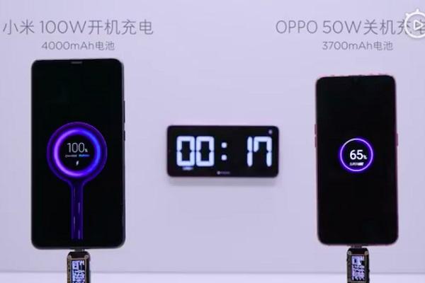 """Xiaomi """"nhá hàng"""": công nghệ sạc nhanh 100W, sạc đầy 4.000mAh trong 17 phút"""