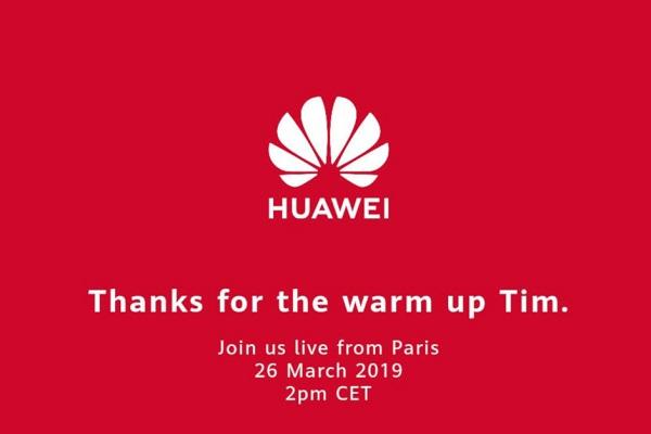 Huawei vội vàng hành động để sự kiện ra mắt Huawei P30 không bị Apple làm lu mờ