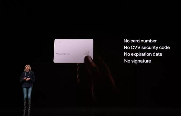 Giới thiệu thẻ tín dụng Apple Card, Apple muốn trở thành công ty thẻ!