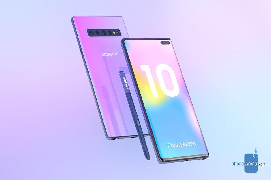 Tin đồn: Galaxy Note 10 sẽ là điện thoại không có phím cứng, 4 camera, cảm biến 3D ToF