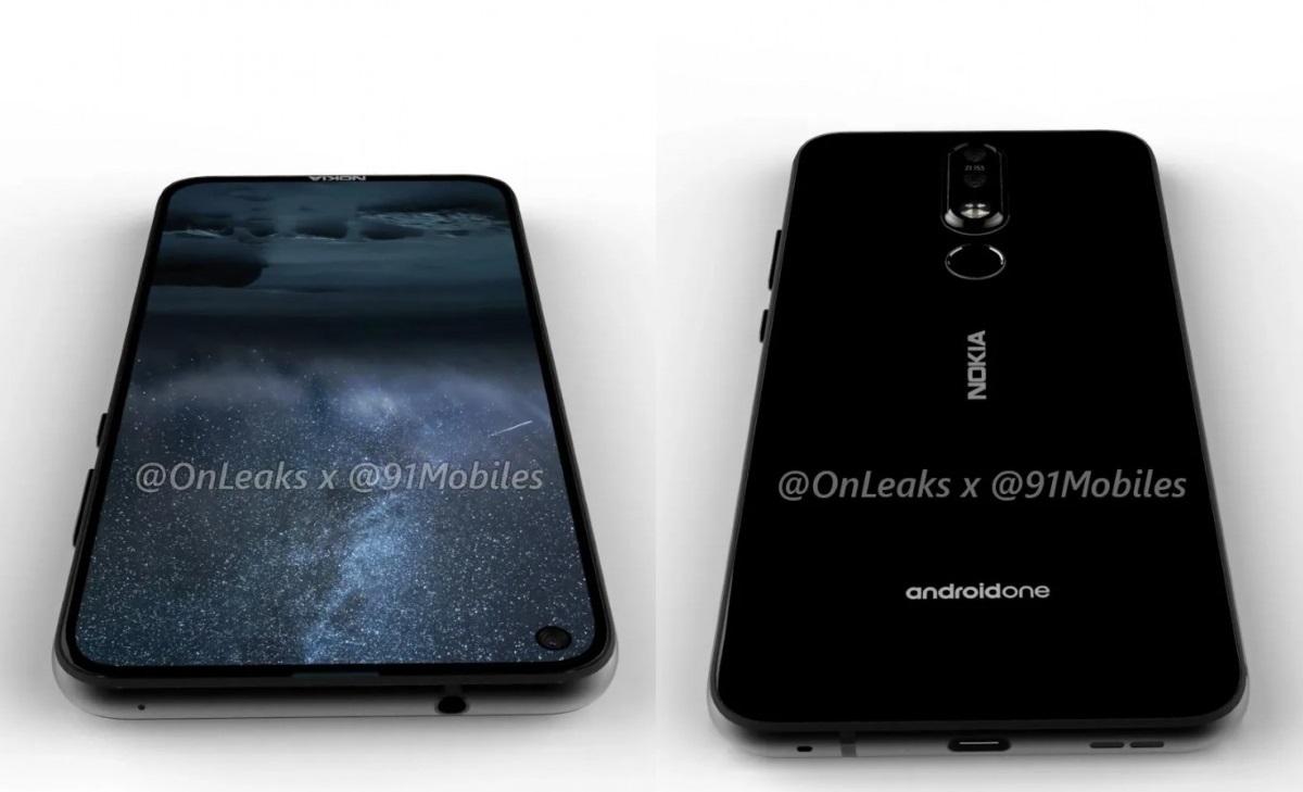 Nokia 8.1 Plus sắp ra mắt, màn hình 6,2 inch đục lỗ, camera 48MP