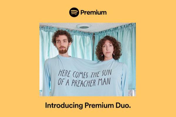 Spotify giới thiệu gói trả phí Premium Duo dành cho các cặp đôi, giá 325 nghìn đồng