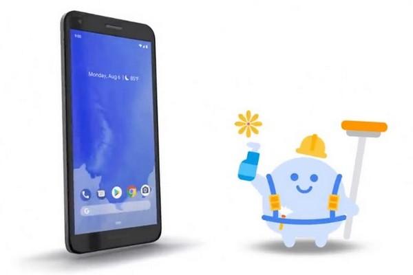 Google bất ngờ tung tính năng tự động vệ sinh màn hình điện thoại khi bụi bẩn Screen Cleaner