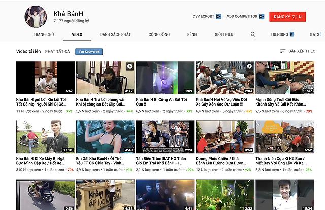 """Kênh Khá Bảnh tái xuất hàng loạt, Youtube """"bất lực""""?"""
