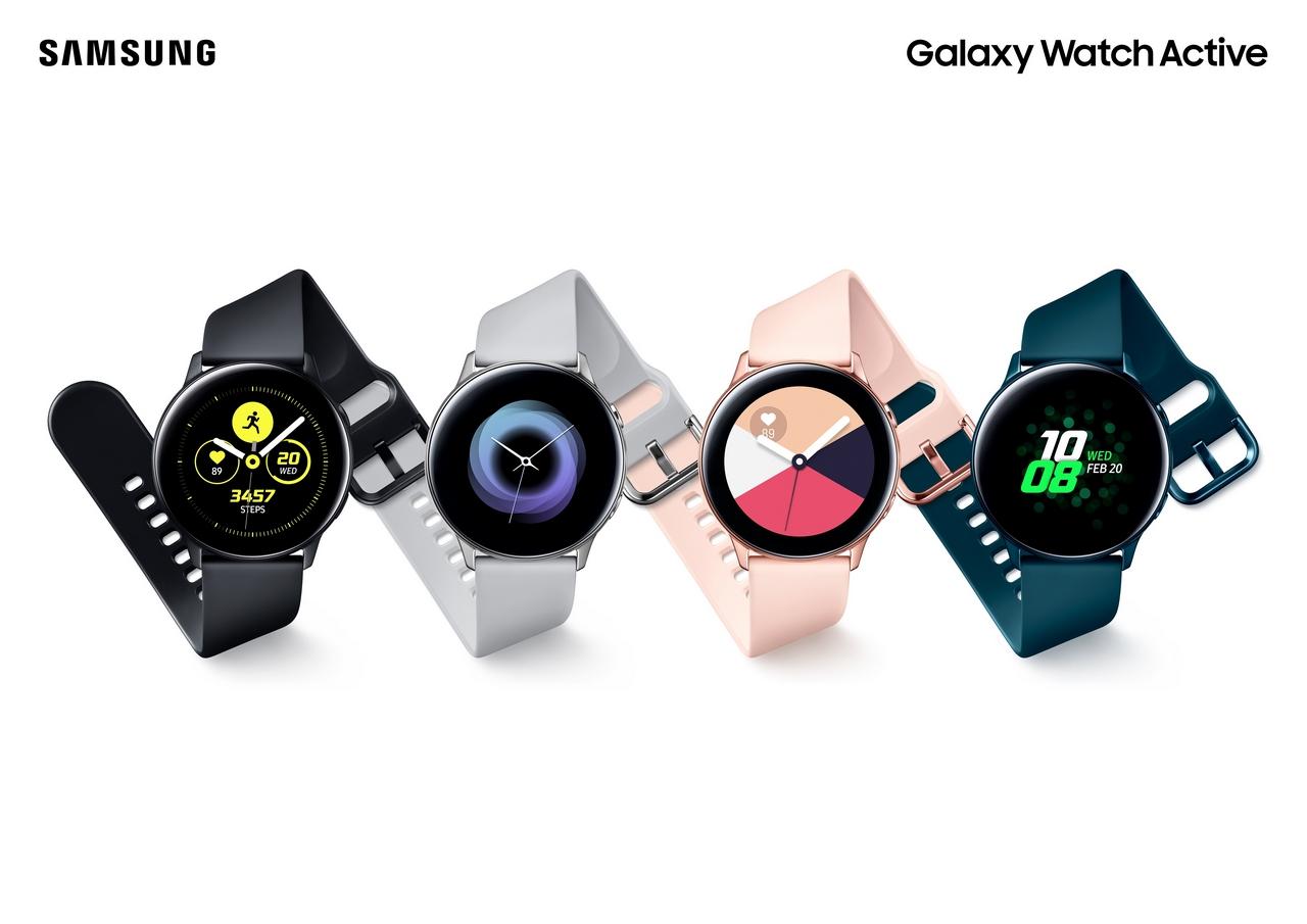 Samsung ra mắt Galaxy Watch Active tại Việt Nam với giá 5,49 triệu đồng, bán ra từ 10/4