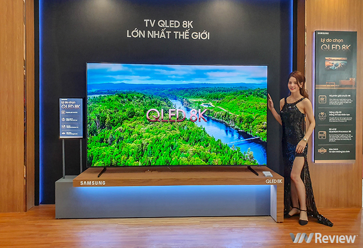 Samsung ra mắt TV QLED 8K tại Việt Nam, hỗ trợ Apple TV, bản cao nhất giá 2,3 tỷ đồng