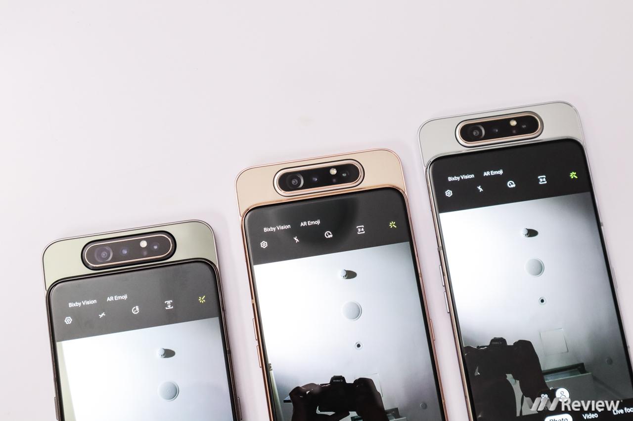 """Trên tay Galaxy A80: Ván bài """"tất tay"""" của Samsung với smartphone Trung Quốc"""