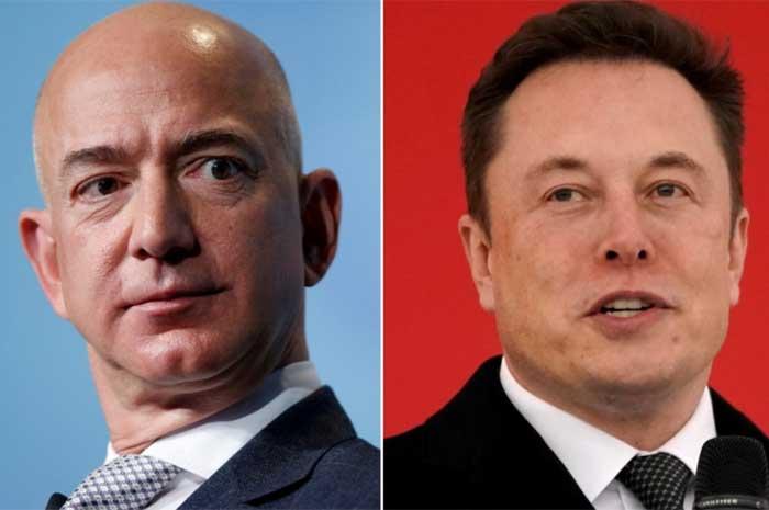 """Elon Musk vừa 'mắng' ông chủ Amazon là """"đồ bắt chước"""""""