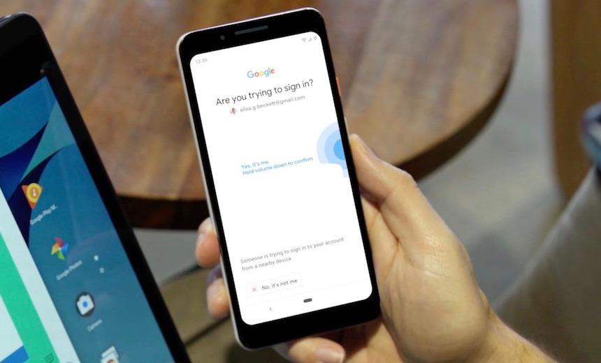 Thiết lập điện thoại Android thành khóa bảo mật cho tài khoản Google