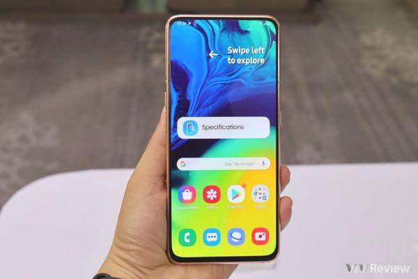 Galaxy A80 đạt điểm AnTuTu ngang ngửa Snapdragon 835 và Kirin 970