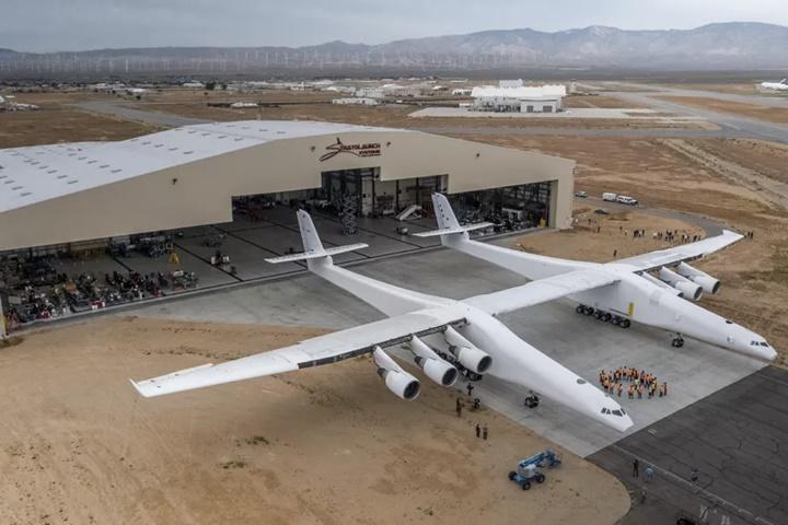 Máy bay lớn nhất thế giới thực hiện chuyến bay đầu tiên