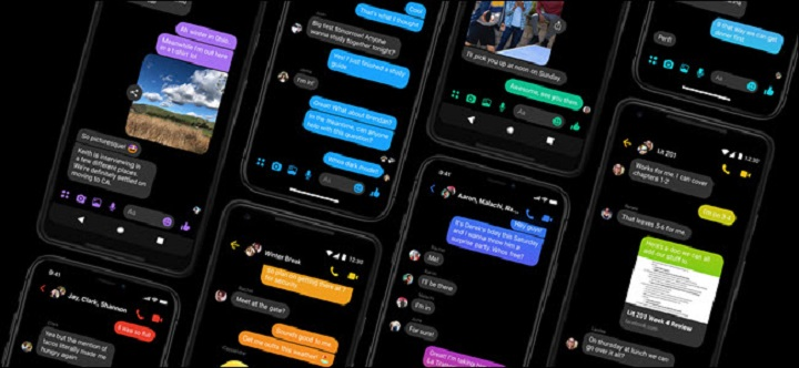 Tính năng Dark Mode trên Facebook Messenger