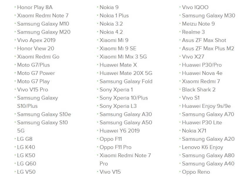 Tính đến hôm nay, đã có hơn 60 smartphone từ những OEM Android lớn nhỏ khác nhau ra mắt trong năm