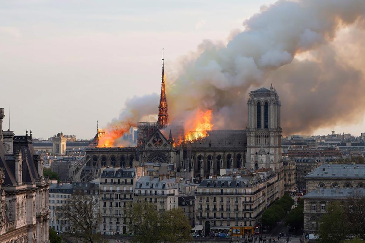 Các bản quét kĩ thuật số mang tới hy vọng phục dựng Nhà thờ Đức Bà Paris sau vụ cháy lịch sử