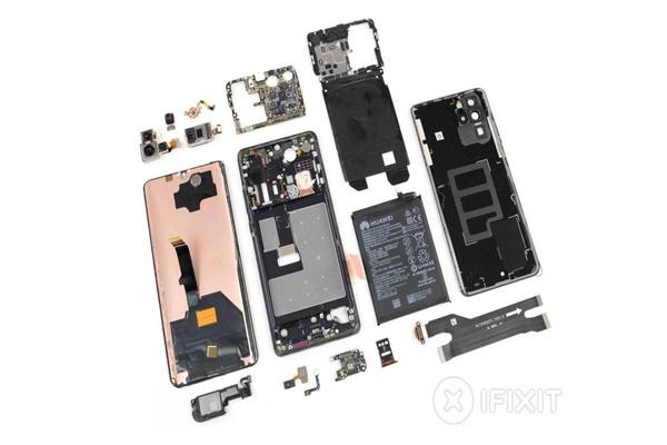 """""""Mổ bụng"""" Huawei P30 Pro tiết lộ những lựa chọn thiết kế của Huawei"""