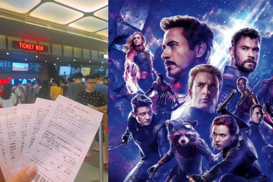Avengers: Endgame cháy vé, cò vé chợ đen được dịp tung hoành