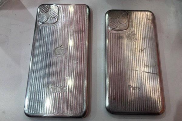 Đây là mặt lưng của iPhone 11 và iPhone 11 Max?