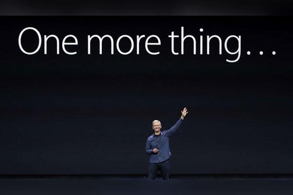 """Apple thua kiện hãng đồng hồ Swatch vì câu nói huyền thoại """"One more thing"""""""