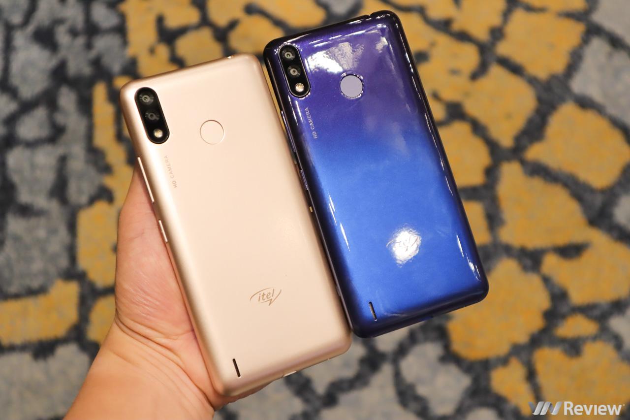 Trên tay itel P33 và P33 Plus vừa ra mắt tại VN: pin 5.000 mAh, RAM 1GB, chạy Android Go, giá từ 1,69 triệu đồng
