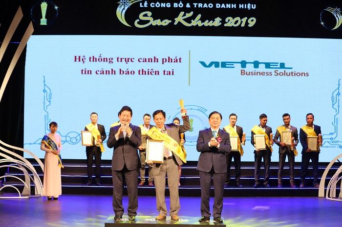 Viettel giành 12/94 giải Sao Khuê cho các sản phẩm dịch vụ thúc đẩy chuyển đổi số