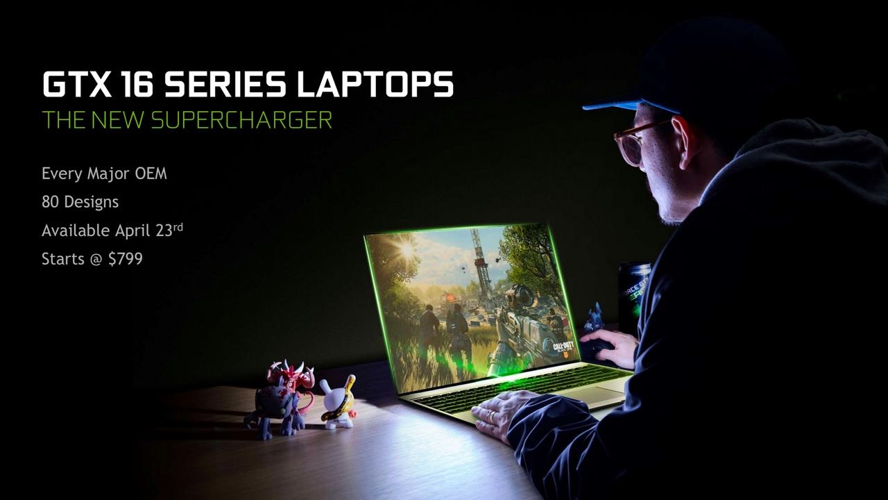 NVIDIA công bố GTX 1650/1660 Ti cho laptop: chiến mượt PUBG max settting với máy dưới 20 triệu