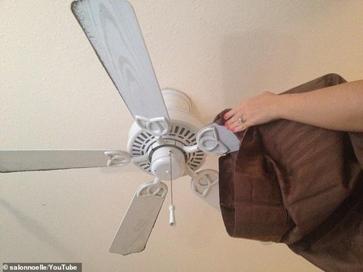Tại sao quạt trần quay liên tục mà vẫn dính bụi bẩn?