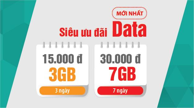 Viettel ra mắt 2 gói Data siêu tốc mới