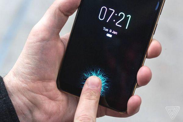Chú ý: Đã có công nghệ cảm biến vân tay dưới màn hình đầu tiên cho màn LCD