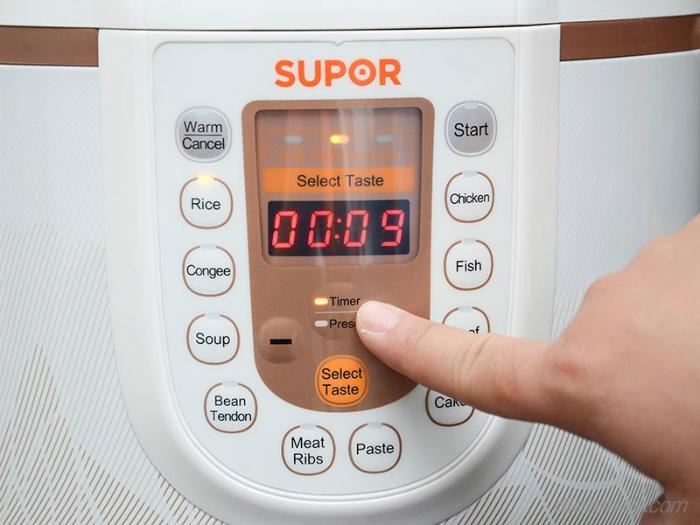 Nồi áp suất điện điều khiển cơ khác gì nồi áp suất điện điều khiển điện tử