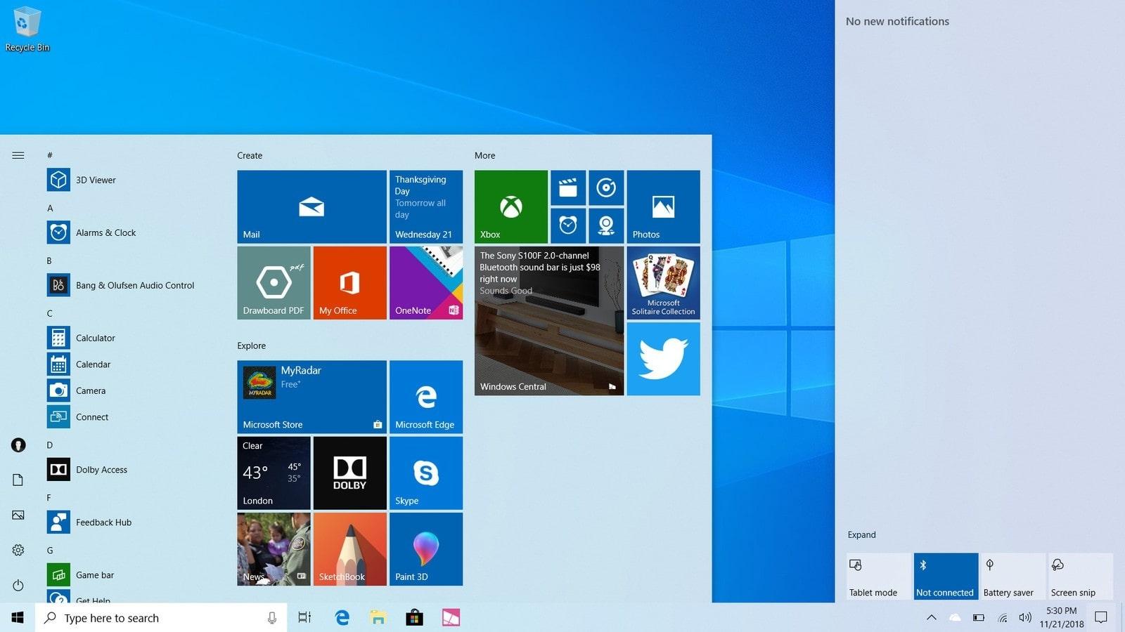 Lần đầu tiên kể từ Vista, Microsoft tăng yêu cầu ổ cứng tối thiểu để cài Windows 10 1903 lên 32GB