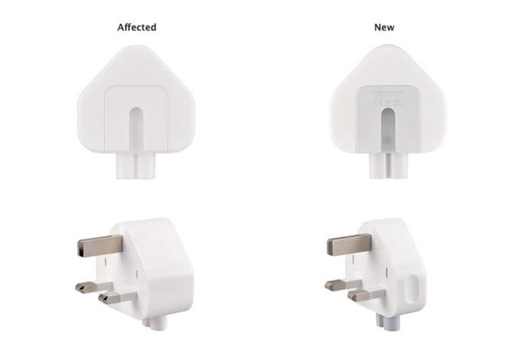 Apple đang thu hồi bộ adapter vì nguy cơ gây điện giật