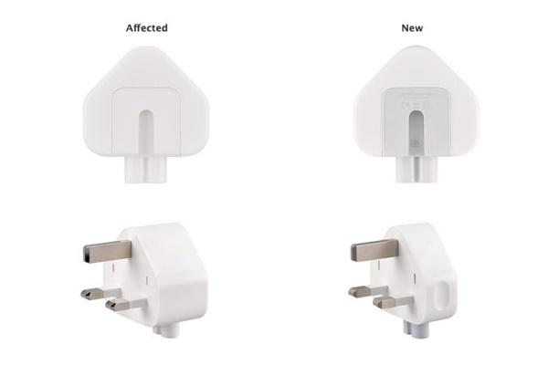 Apple thu hồi nhiều chấu cắm sạc vì nguy cơ giật điện