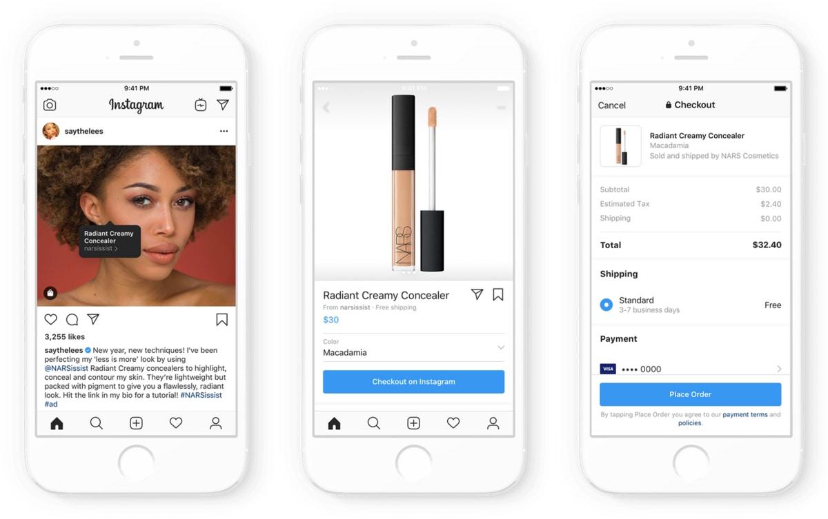 Instagram cho phép các nhà sáng tạo nội dung, người nổi tiếng bán hàng trực tiếp bên trong ứng dụng