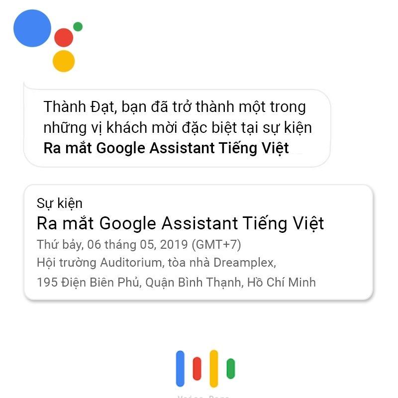 Google Assistant  tieng viet