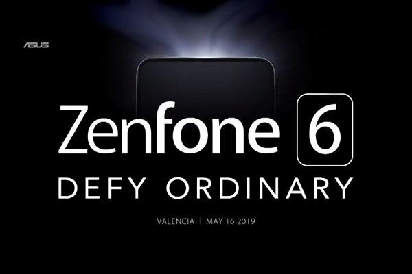 Asus nhá hàng ZenFone 6 với thiết kế tràn viền, không tai thỏ, giọt nước, nốt ruồi