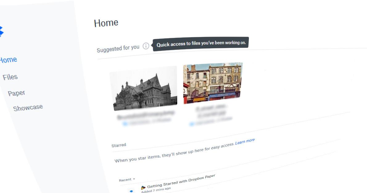 Dropbox bổ sung tính năng gợi ý nội dung, giúp người dùng mở nhanh những file cần tìm