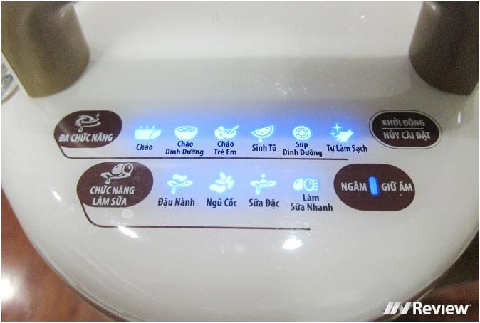 Bảng điều khiển máy làm sữa đậu nành