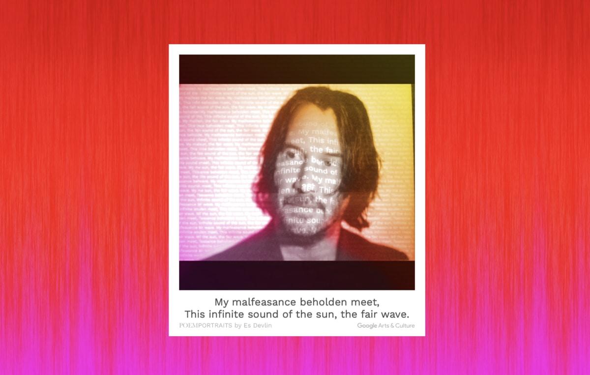 Google ra ứng dụng PoemPortraits giúp phủ lên ảnh chân dung một… bài thơ do AI sáng tác