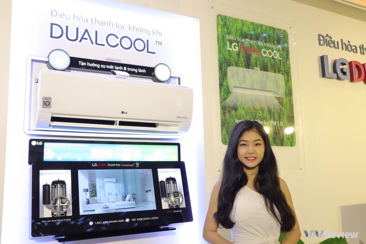 LG ra mắt điều hòa Dual Cool Inverter tích hợp sẵn bộ lọc không khí