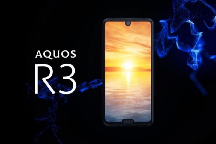 Sharp công bố Aquos R3: Snapdragon 855, màn hình 120Hz có tới 2… tai thỏ