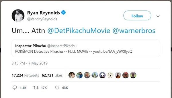 Thực hư việc phim 'Thám tử Pikachu' có bản Full HD trên
