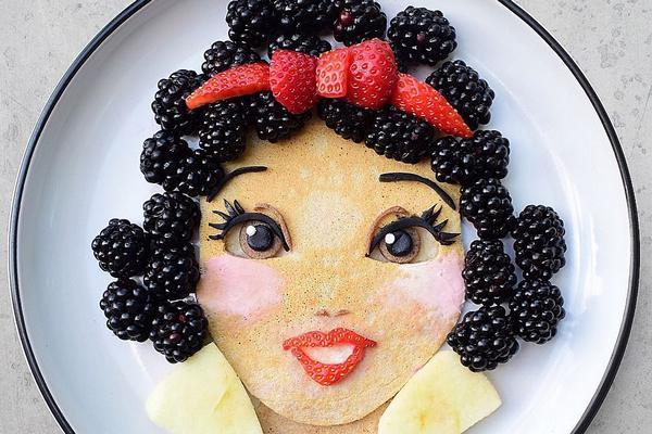 Nghệ sỹ biến hóa đĩa thức ăn trở thành tác phẩm nghệ thuật đẹp đến nỗi không nỡ ăn